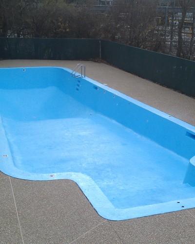 photo of freshly-painted-pool