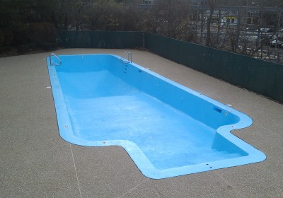 photo of freshly-painted-pool