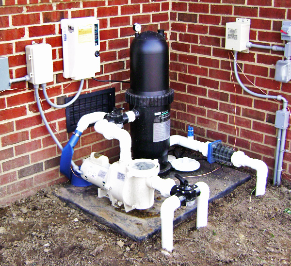 photo of pool-pump-filter-valves