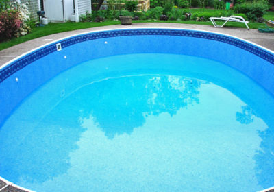 large round pool liner